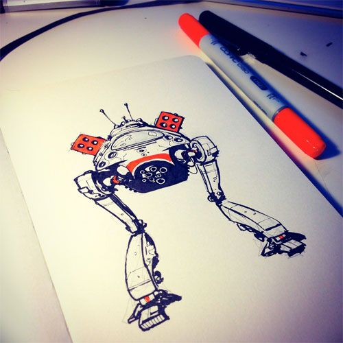 Tumblr of the Week: A Droid a Day | Doodlers Anonymous