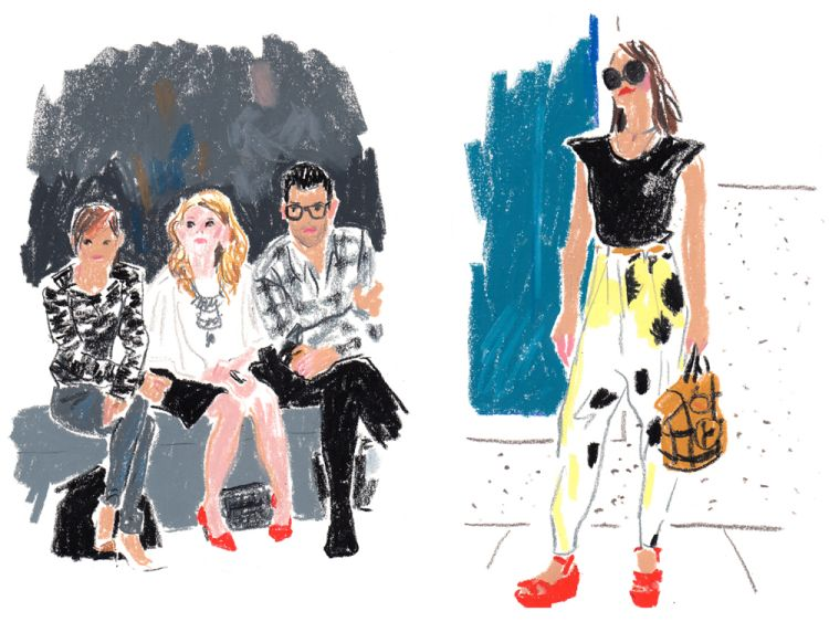Damien Florebert Cuypers: New York Fashion Week | Doodlers Anonymous