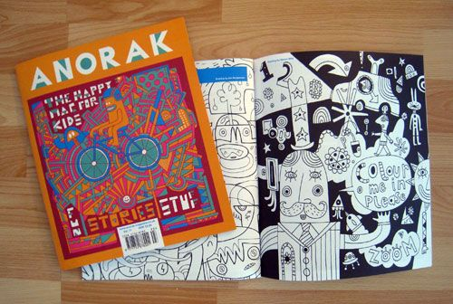 Giveaway: Anorak Magazine | Doodlers Anonymous