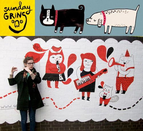 Sunday Grins! with Gemma Correll | Doodlers Anonymous