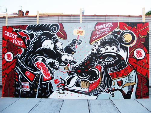 The Collaborations of The Yok and Sheryo | Doodlers Anonymous