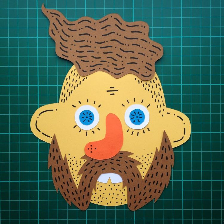 Craft Paper Dudes | Doodlers Anonymous