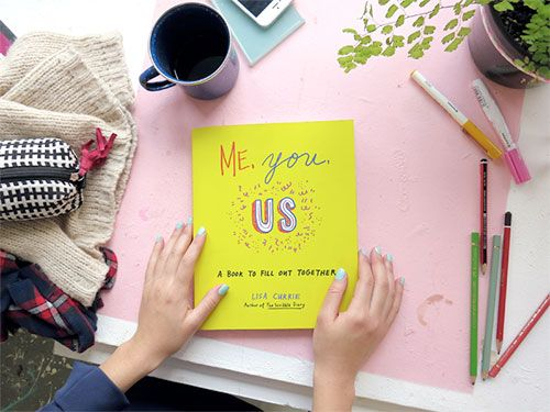 Giveaway: Me, You, Us by Lisa Currie | Doodlers Anonymous