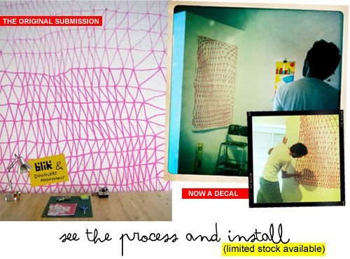 Irregular Mesh by Camila León (Process + Install) | Doodlers Anonymous