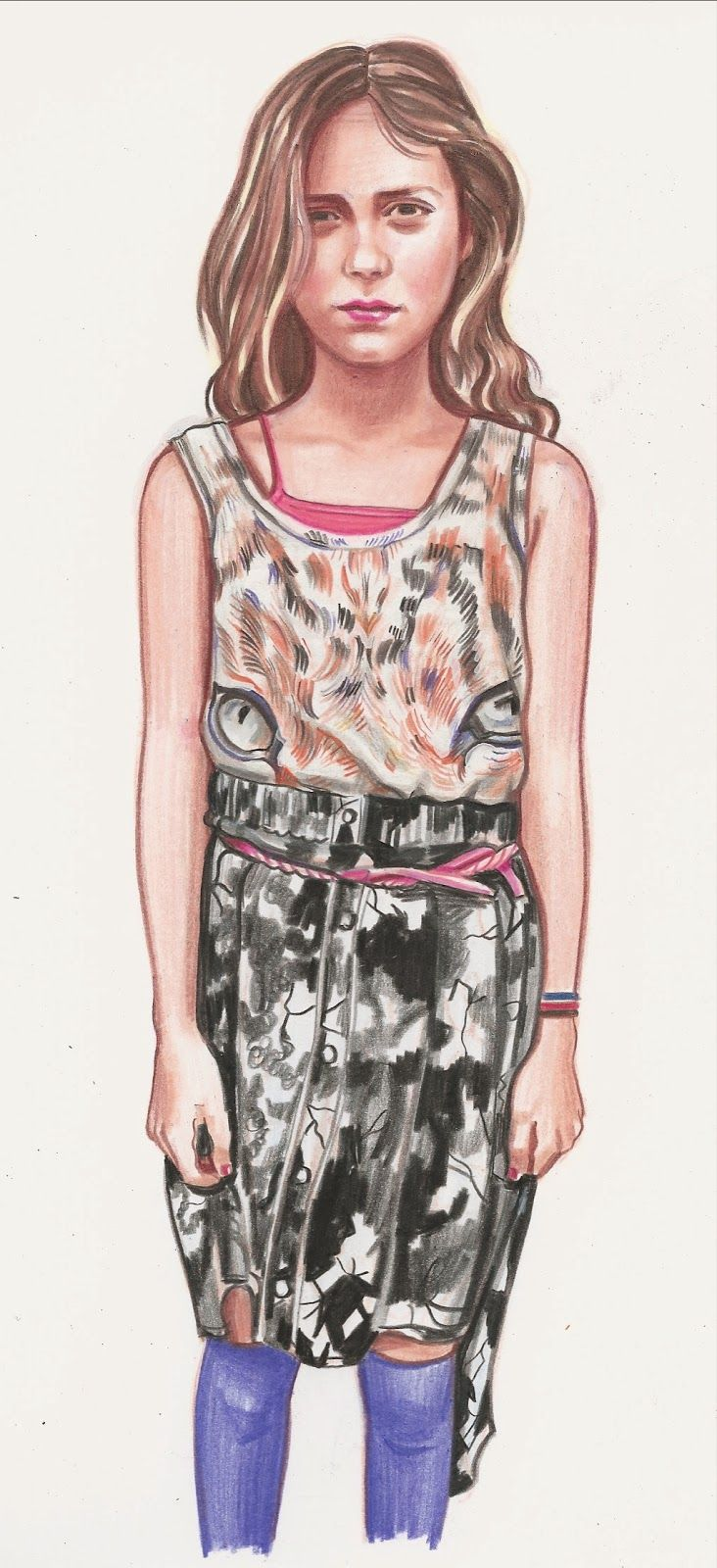 What My Daughter Wore - Sketching Tween Street Style | Doodlers Anonymous