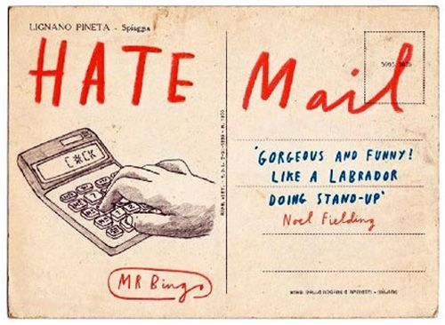 I Love Hate Mail | Doodlers Anonymous