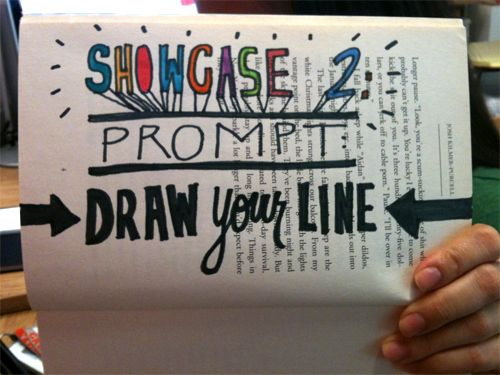 Showcase #2: Draw Your Line | Doodlers Anonymous