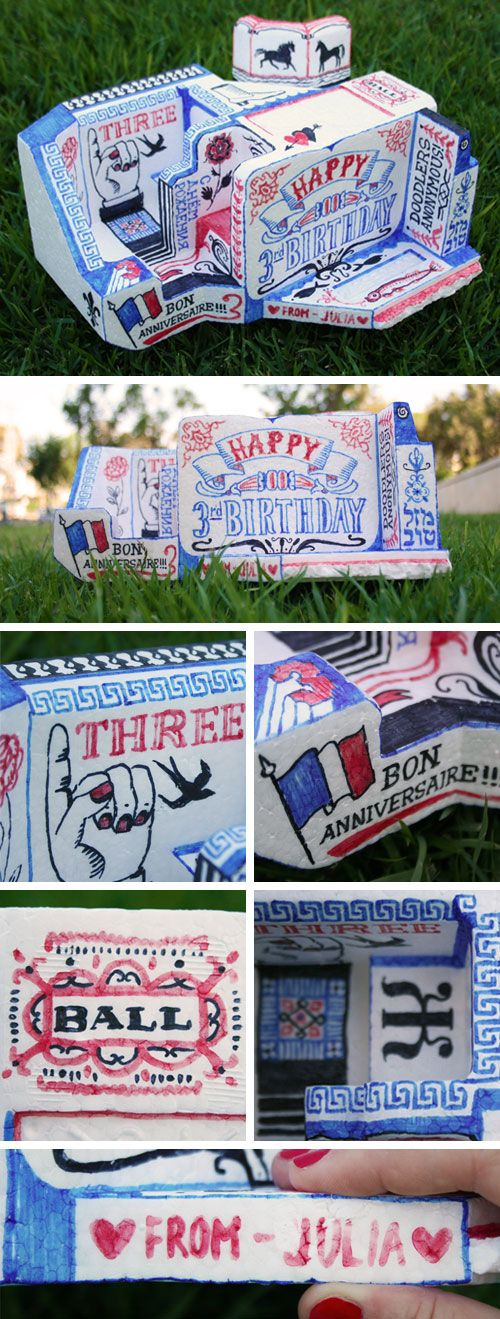 Over 40 Hand-Drawn Birthday Cards | Doodlers Anonymous