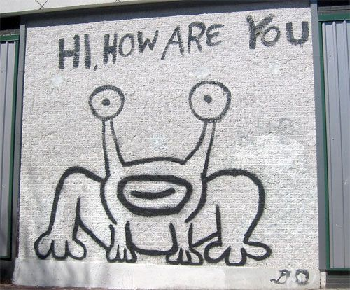 Hi, How Are You | Doodlers Anonymous