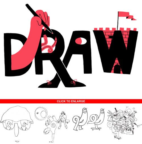 Eric Ellis Makes Draws Too | Doodlers Anonymous