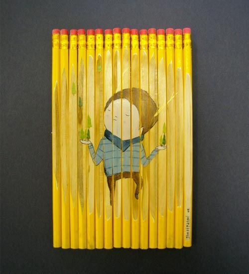 A Row of Pencils | Doodlers Anonymous