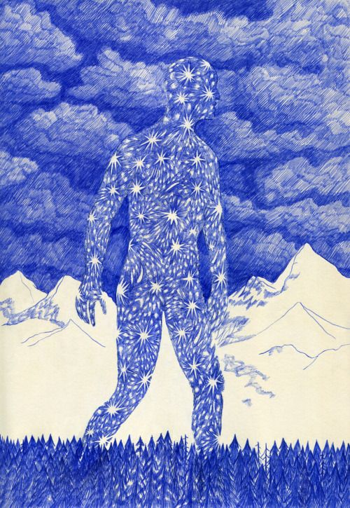 Dreaming in Blue Ink | Doodlers Anonymous