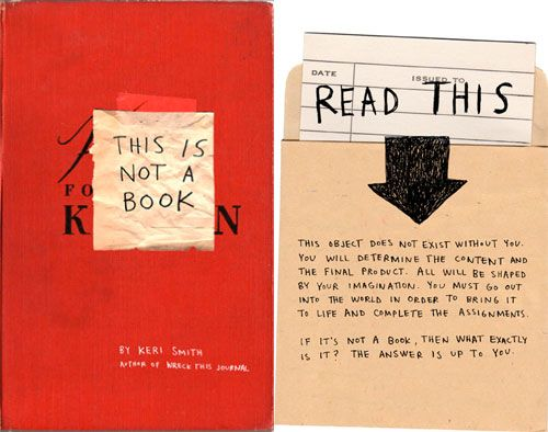 Giveaway: 'This Is Not a Book' by Keri Smith | Doodlers Anonymous