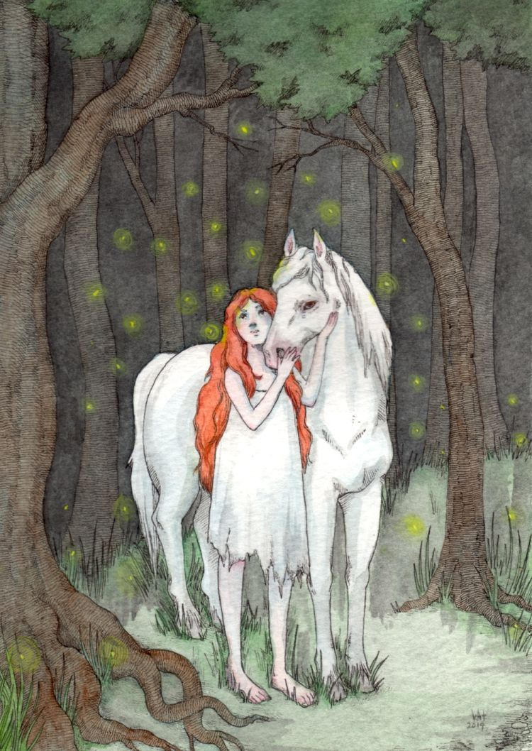 Sketchy Fairytale Illustrations | Doodlers Anonymous