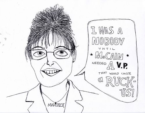 Sarah Palin Confesses | Doodlers Anonymous