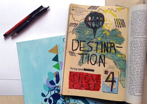 Showcase #4: Draw Your Destination | Doodlers Anonymous
