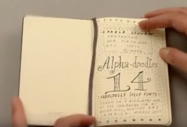 Detour: The Moleskine Notebook Experience | Doodlers Anonymous