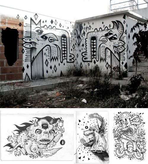 Wall Doodlin' with Tosco | Doodlers Anonymous