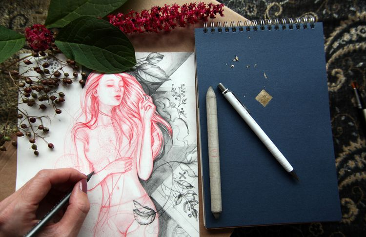 Beauty in the Unfinished | Doodlers Anonymous