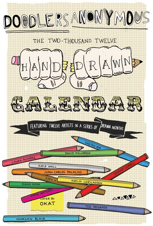 2012 Hand-Drawn Calendar | Doodlers Anonymous