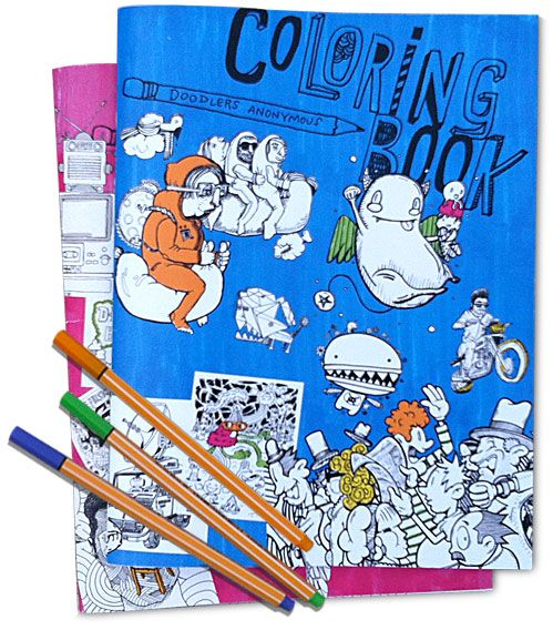 Coloring Book, Vol. 2 | Doodlers Anonymous