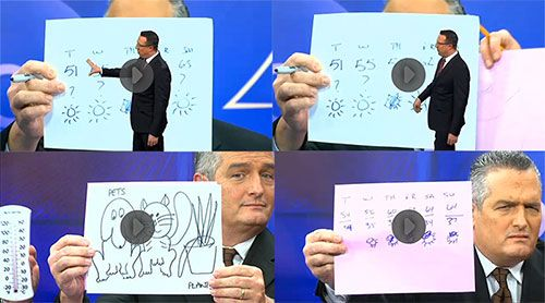 Doodles Save This News Anchor's Live Weather Forecast | Doodlers Anonymous