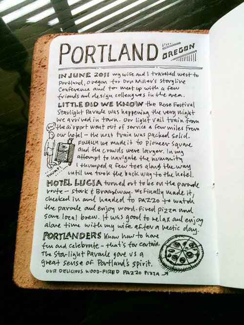 Portland Travelogue | Doodlers Anonymous