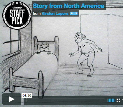 Here's a Story from North America | Doodlers Anonymous