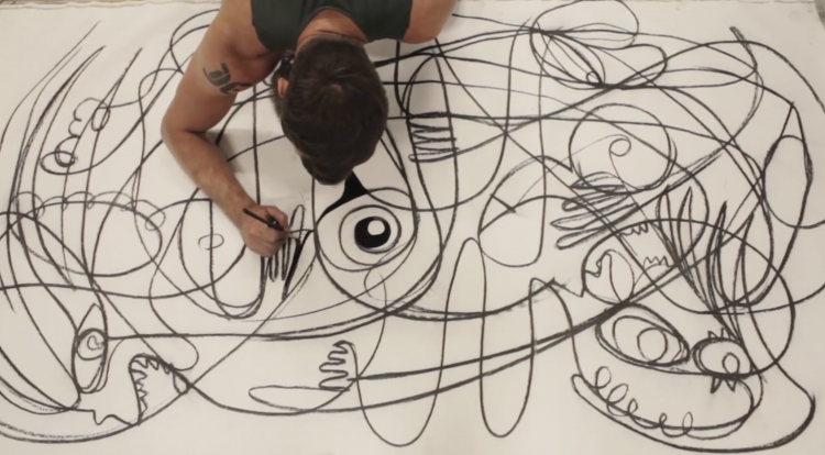 The Beautiful Creative Process of David Engzell | Doodlers Anonymous