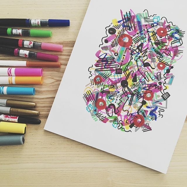 The Freeform Doodles and Organized Chaos of BucketFeet Chief Artist, Aaron Firestein | Doodlers Anonymous