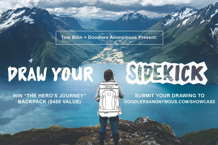 Now Accepting Submissions Showcase #27: Draw Your Sidekick | Doodlers Anonymous