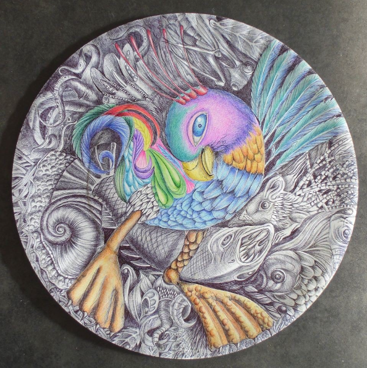 Member Spotlight: Val Myburgh's Doodled Plates | Doodlers Anonymous