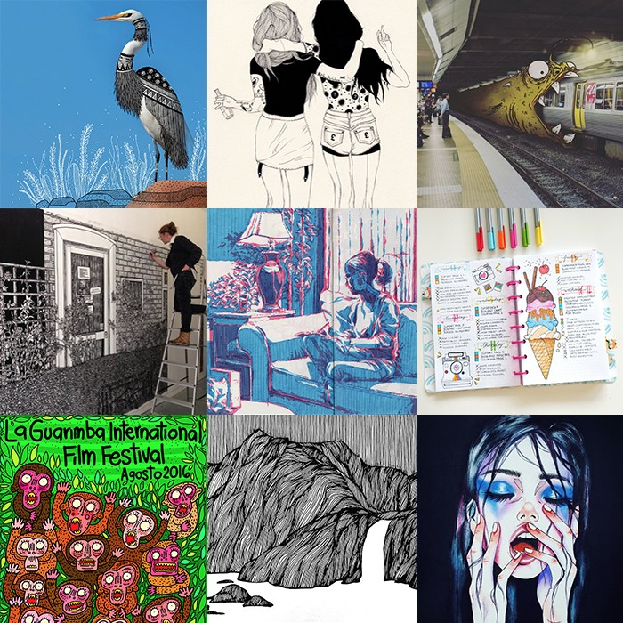 Our 2016 Doodle, Draw and Illustration Year in Review | Doodlers Anonymous