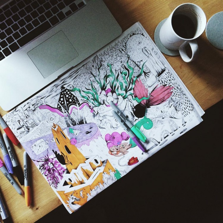 Step Into Another Universe With These Drawings | Doodlers Anonymous