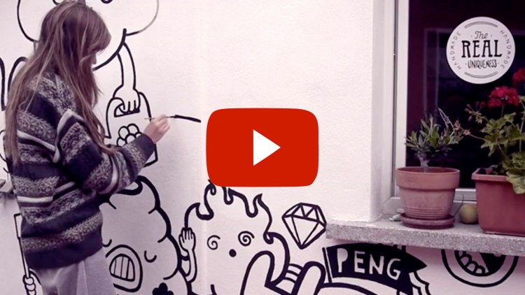 Watch This House Transform Into A Doodlers' Paradise | Doodlers Anonymous