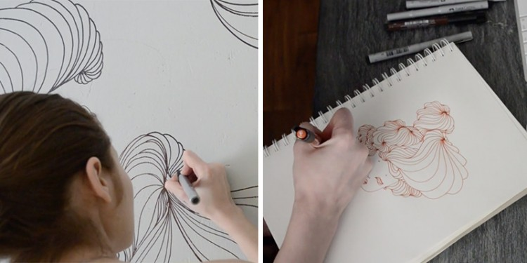 Press Play to See This Beauty Unfold from Concept to Execution | Doodlers Anonymous