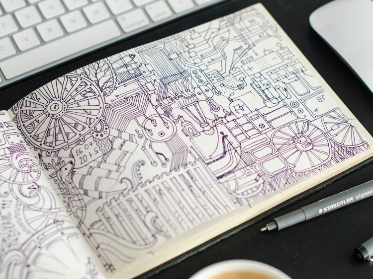 Doodling Up Every Last Inch | Doodlers Anonymous