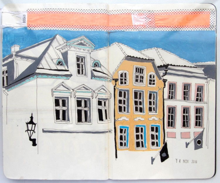 A Walk Through the City with Kristel Sergo | Doodlers Anonymous