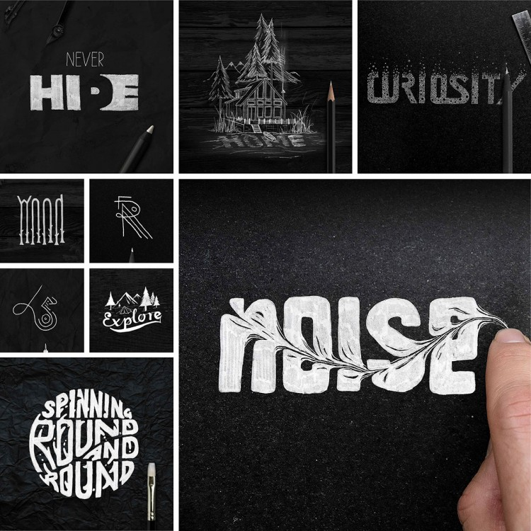Experimental Hand-Made Type | Doodlers Anonymous