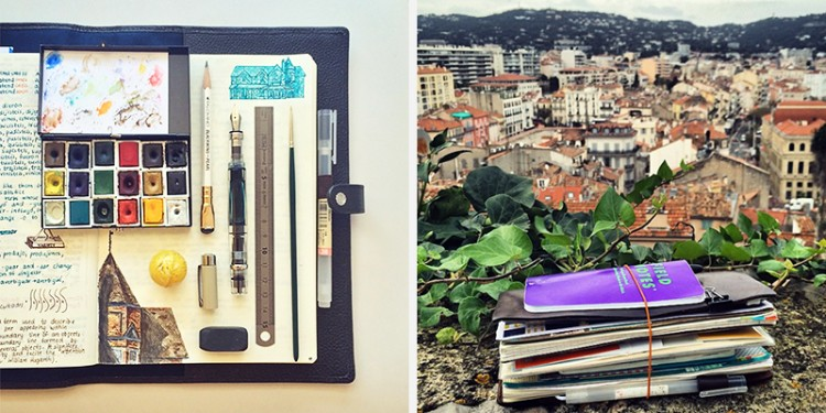 Years of Daily Urban Sketchbook Journaling | Doodlers Anonymous