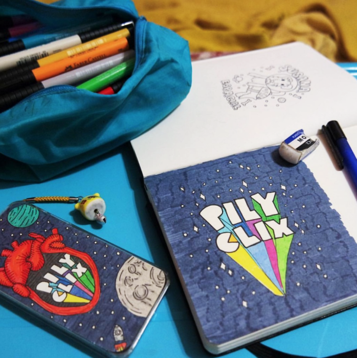Member Spotlight: Pily Clix | Doodlers Anonymous