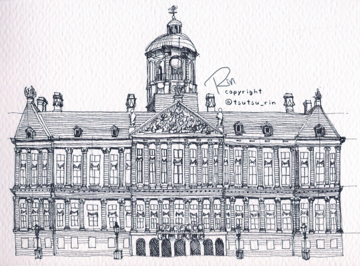 Member Spotlight: Rin's Beautiful Ballpoint Buildings | Doodlers Anonymous