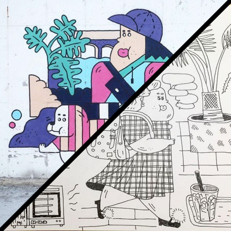 Perfectly Plump From Sketchbook To Street Art | Doodlers Anonymous