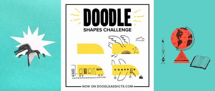 Submit Your Doodles Now: Drawing Challenge by Chronicle Books! | Doodlers Anonymous