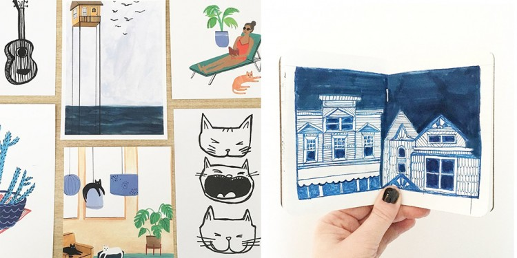 Member Spotlight: Home Is Where The Art Is | Doodlers Anonymous