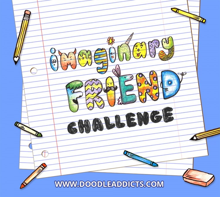 Now Accepting Submissions: Draw Your Imaginary Friend | Doodlers Anonymous