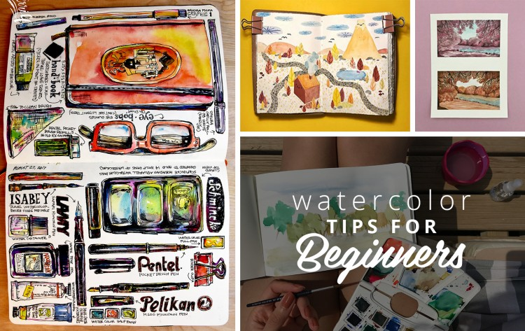 Watercolor Tips for Beginners from Top Watercolor Artists | Doodlers Anonymous