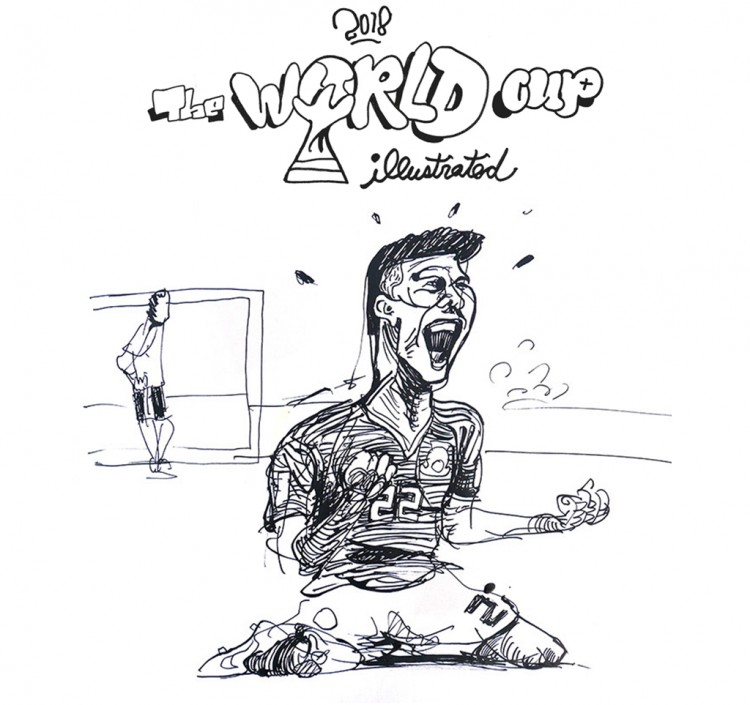 World Cup 2018 Illustrations and Drawings | Doodlers Anonymous