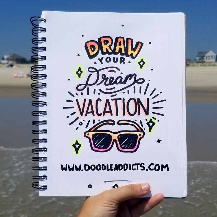 Now Accepting Submissions: Draw Your Dream Vacation | Doodlers Anonymous