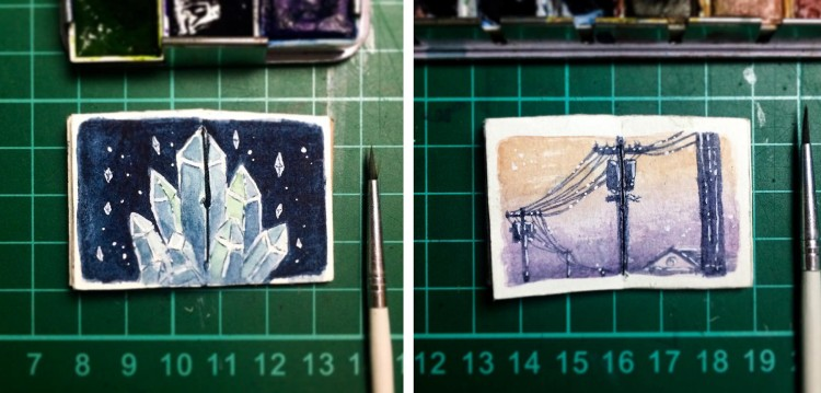 Great Paintings Come In Tiny Packages | Doodlers Anonymous